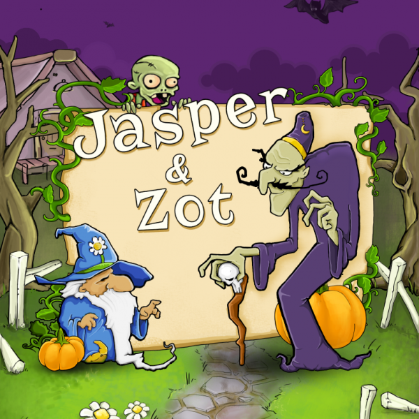 Jasper and Zot iPad screenshot