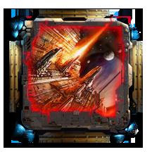 Among The Stars Military Card